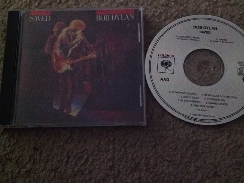 Bob Dylan - Saved Columbia Records Compact Disc