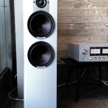 DALI  Epicon 6 Loudspeakers in Rare High Gloss Piano Wh...