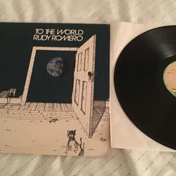 Rudy Romero To The World