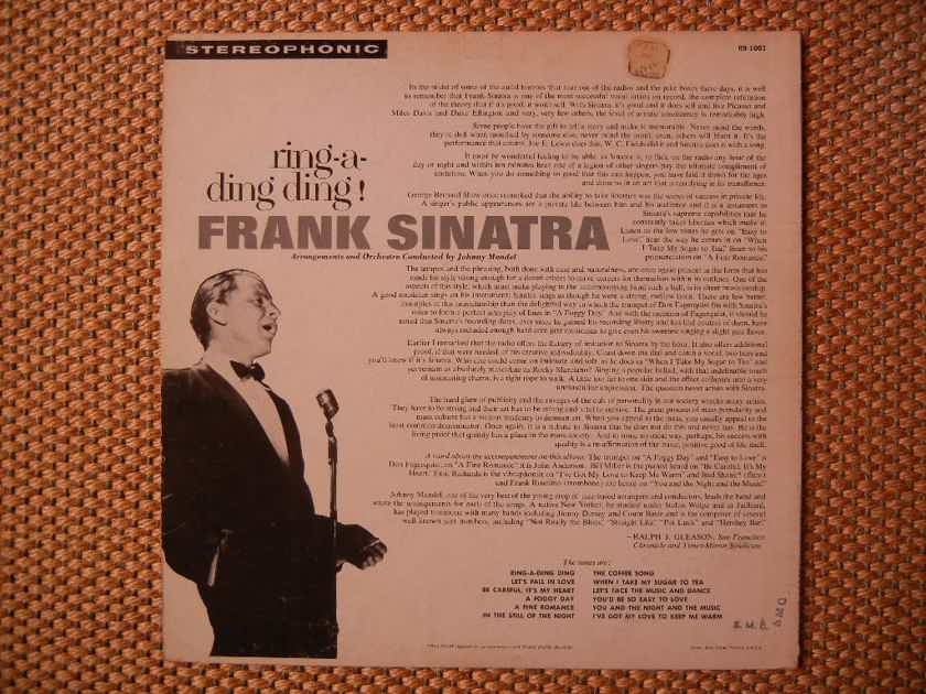 Frank Sinatra - ring-a-ding ding Reprise R9-1001 Stereo