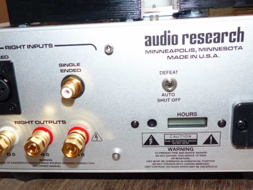 Audio Research VT 80SE PRICE CUT!!  Tube Amp  Low Hrs Brushed Aluminum KT 150s