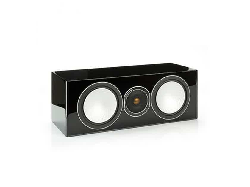 Monitor Audio Silver Center Channel Black Gloss