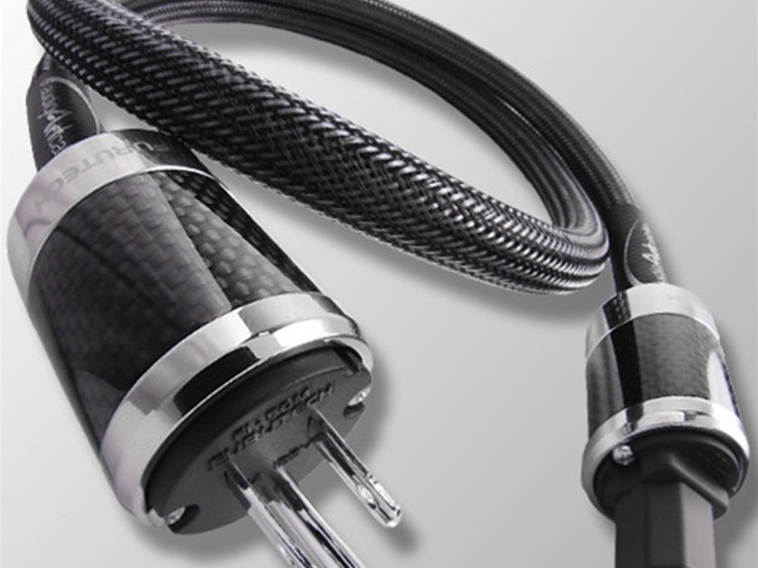 Audio Art Cable  **Statement Power Cable** 10 gauge silver plated OFC copper conductors!