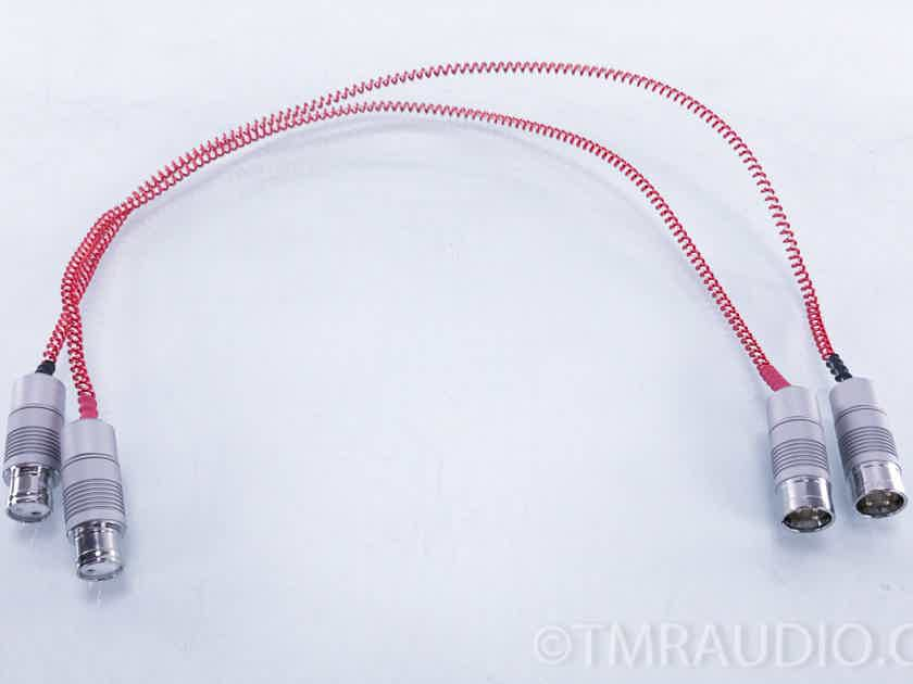Anticables Level 4.0 Silver XLR Cables .75m Pair Interconnects (3346)