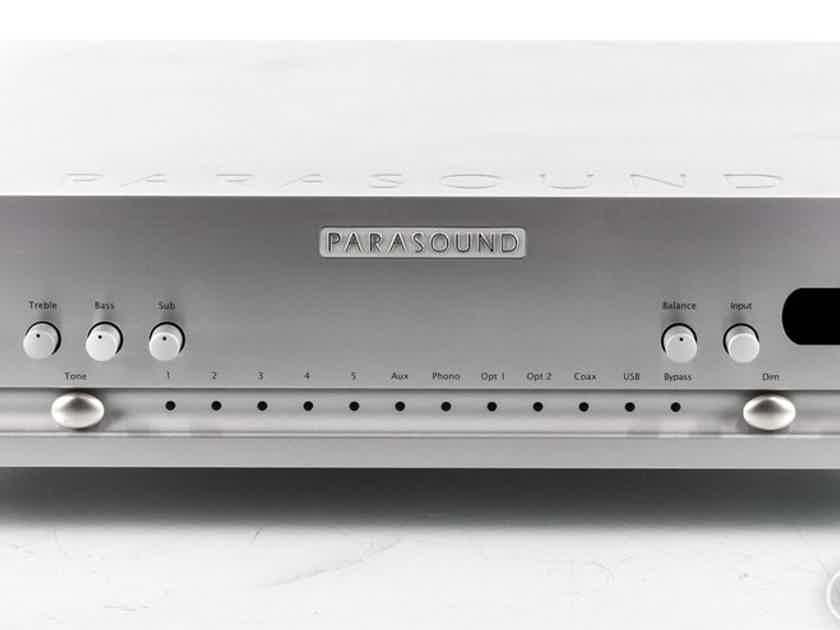 Parasound Halo P6 2.1 Channel Preamplifier / DAC; MM / MC Phono; P-6 (22663)