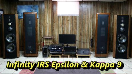 Infinity IRS Epsilon & Infinity Kappa 9