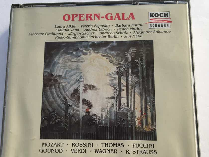 Opern Gala Mozart Rossini Puccini Verdi more Koch Schwann Cd set 1993