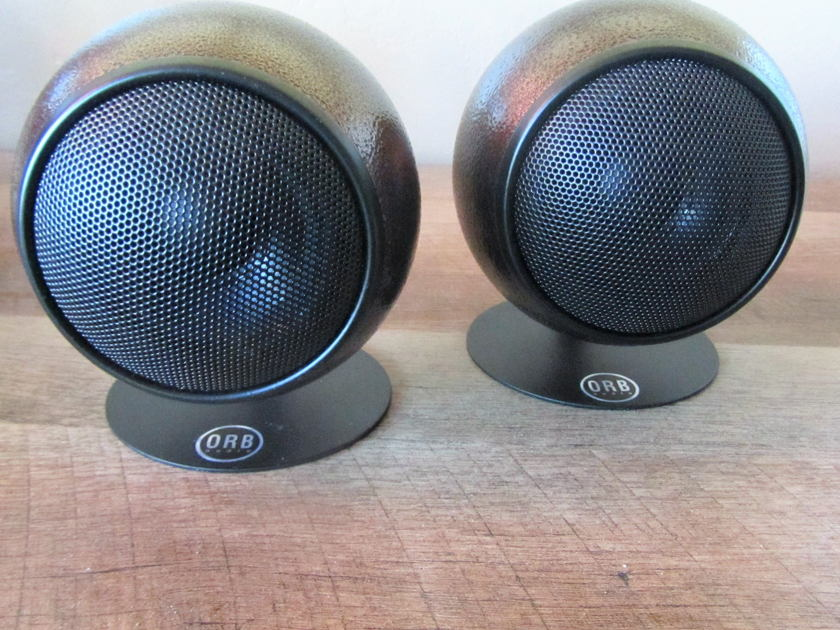 ORB AUDIO Speaker Pair -  Mod 1X Speakers - Perfect Condition