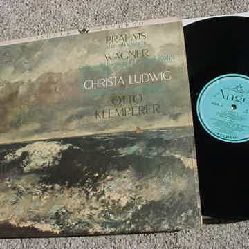 Classical Brahms alto rhapsody lp record Wagner Christa Ludwig Otto Klemperer