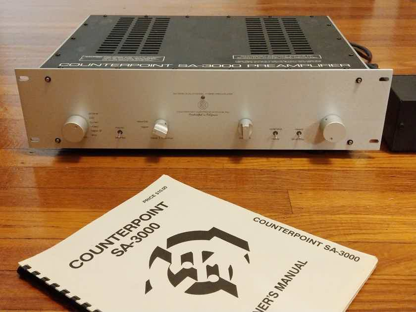 Counterpoint SA-3000 Tube Preamp in Great Condition, OPEN TO OFFERS