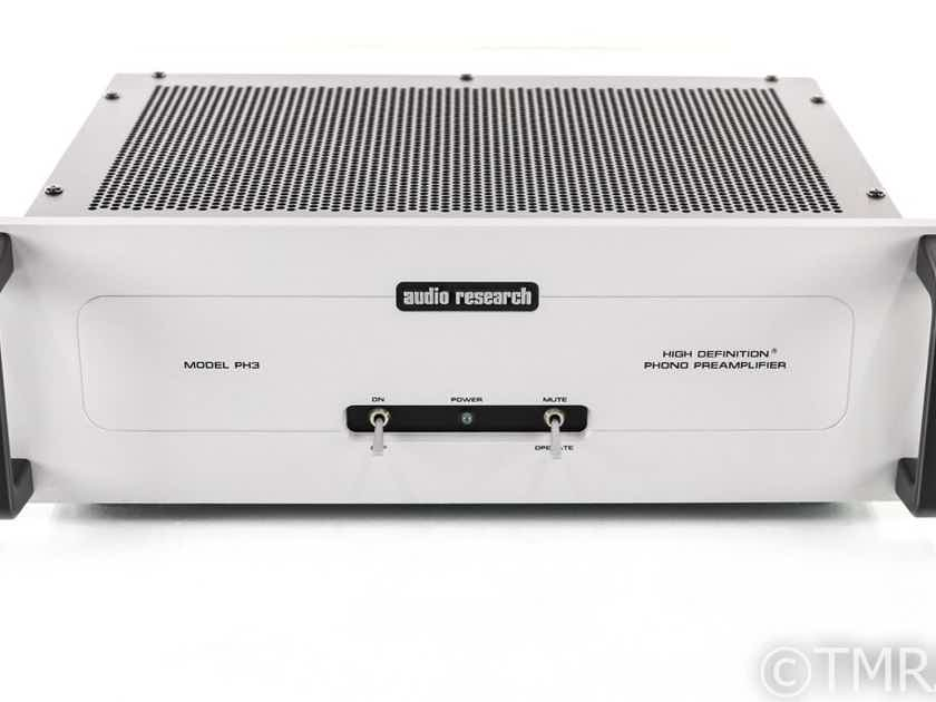 Audio Research PH3 MM Tube Phono Preamplifier; PH-3; Moving Magnet (28442)