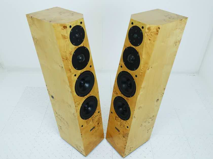 Silverline Audio Technology Sonatina Floorstanding Speakers Briarwood Pair (16286)
