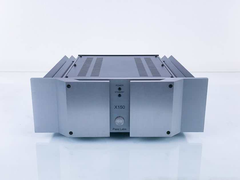 Pass Labs X150 Stereo Power Amplifier; X-150 (17411)