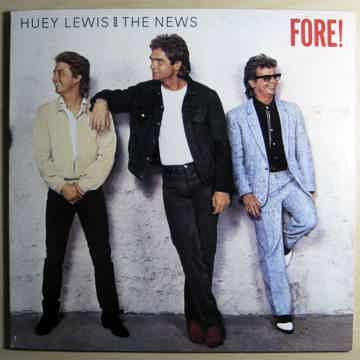 Huey Lewis And The News - Fore!  - 1986 Chrysalis OV 41534