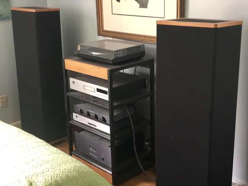 """Theta, McCormack, Vandersteen """"full stereo system"""""""
