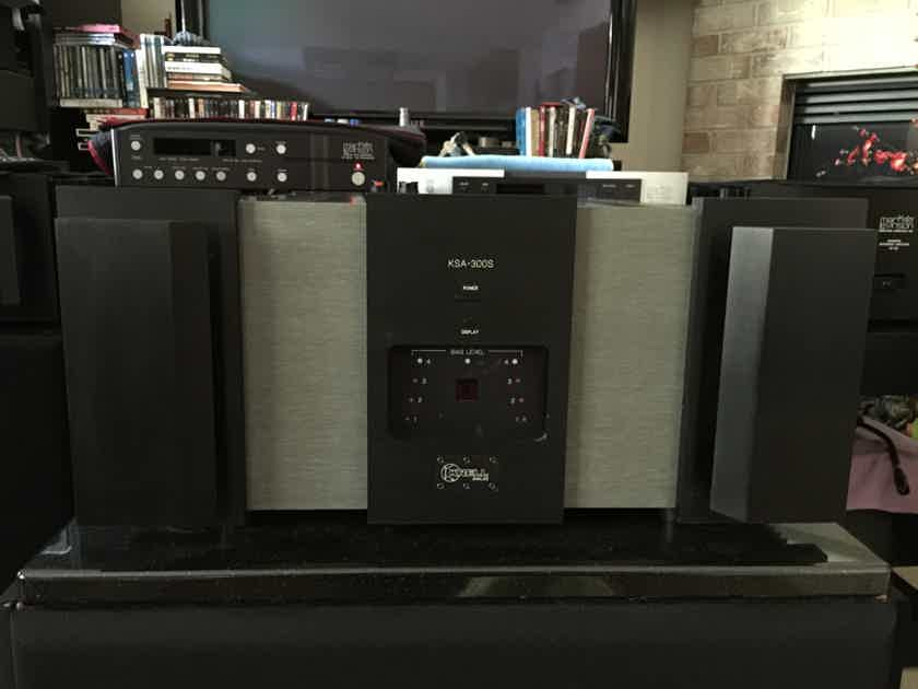 KRELL  KSA-300S ... SERVICED BY GEORGE MEYER  (local pickup only)