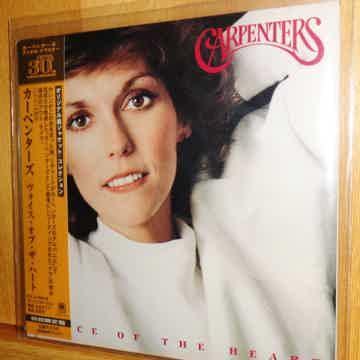 Carpenters Voice of the Heart (Mini LP CD)
