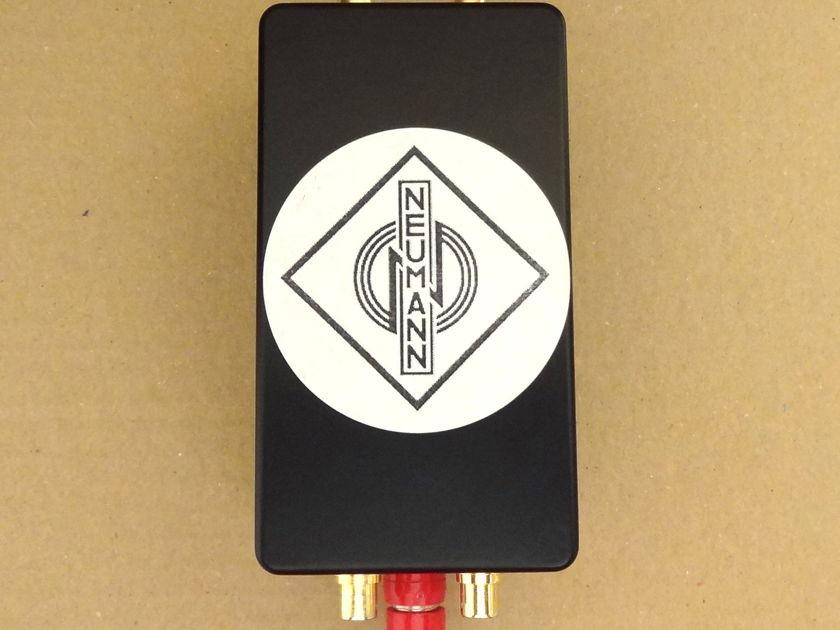 Neumann 2xV264 BV33 Stereo MC step-up transformer in box for EMT ORTOFON DENON