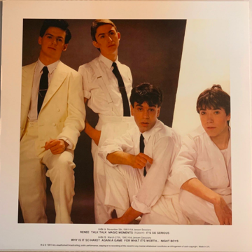 BBC Sessions 1981 & 1983 Import on White Vinyl