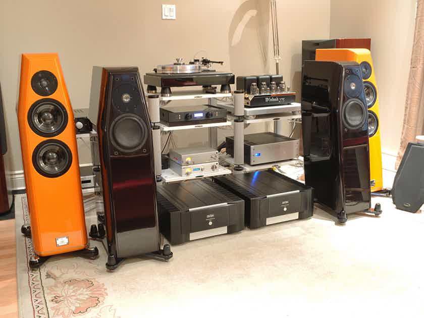 Kharma CRM 3.2FE Floor Standers in Aubergine SEE PHOTO
