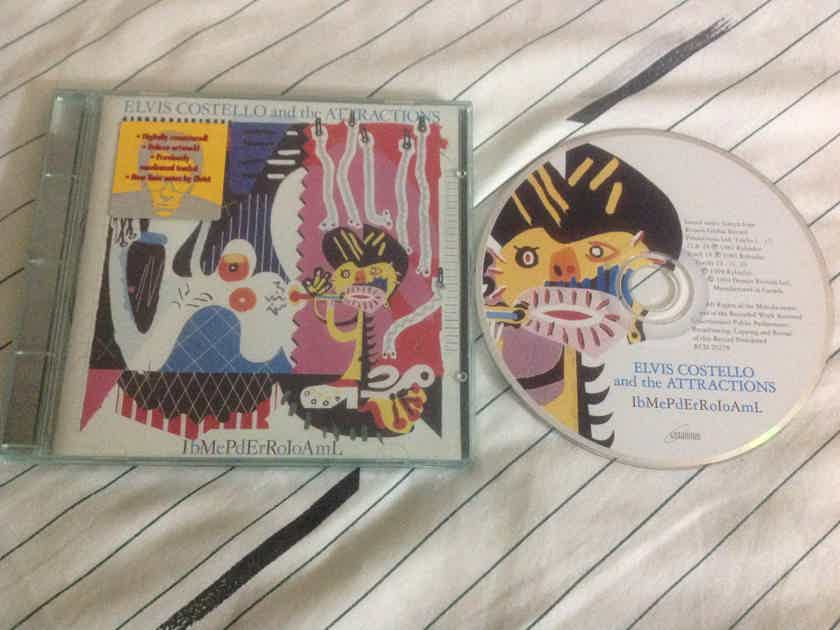 Elvis Costello And The Attractions  - Imperial Bedroom Ryko Records Compact Disc