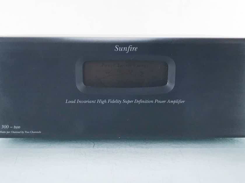 Sunfire Architect's Choice Series 2 Stereo Power Amplifier  (15567)