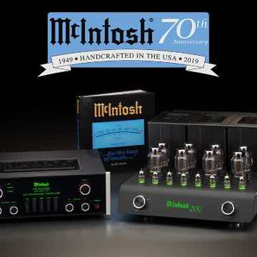 McIntosh 70th anniversary edition C70 and C2152 BRAND N...
