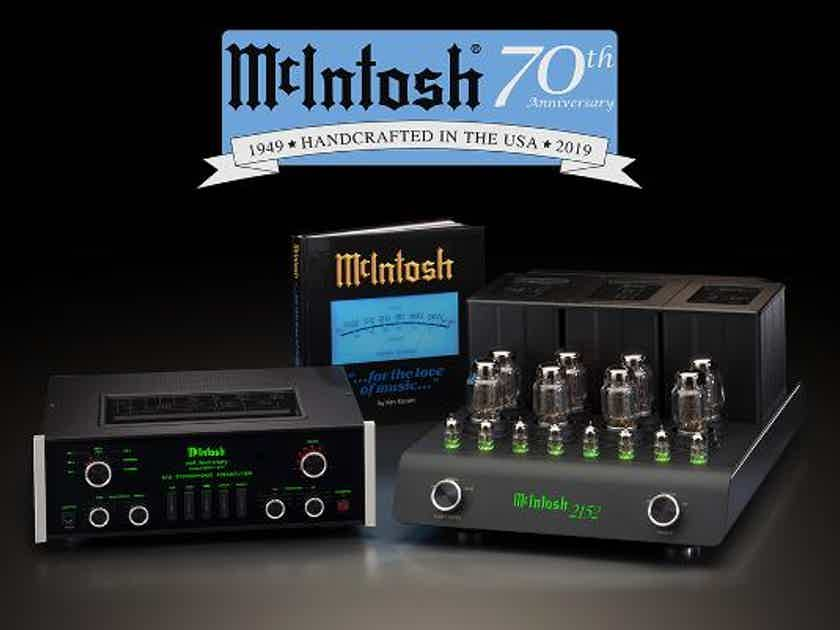 McIntosh 70th anniversary edition C70 and C2152 BRAND NEW in box sealed