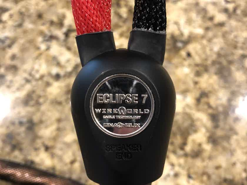 Wireworld Eclipse 7 Bi-Wire Speaker Cable Priced For Quick Sale
