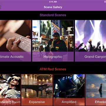 iPad app with 7 different scenes
