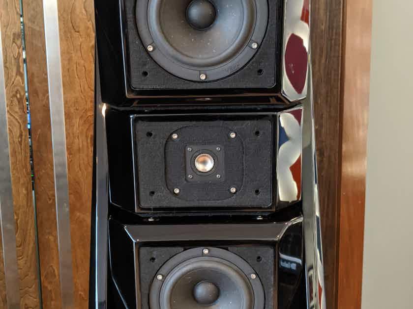 PENDING SALE Wilson Audio Alexandria X-2, Series 2, Field Re-Certified, Diamond Black