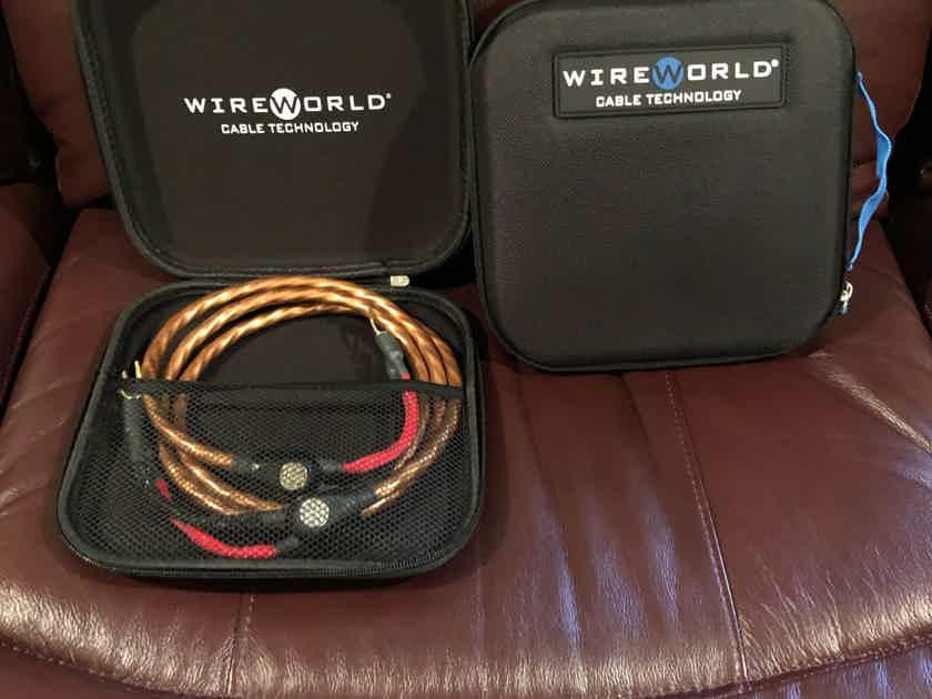 Wireworld Mini Eclipse 7 Speaker Cable - 8' Pair