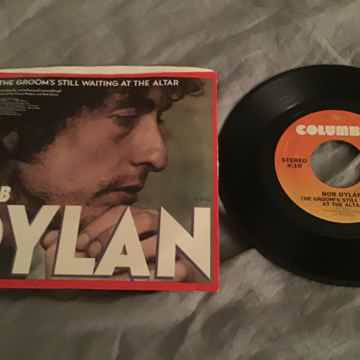 Bob Dylan Heart Of Mine 45 With Picture Sleeve Vinyl NM