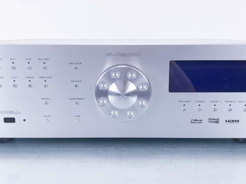 Krell S-1200U 3D 7.1-Channel Home Theater Processor Preamplifier; S1200U3D (14062)
