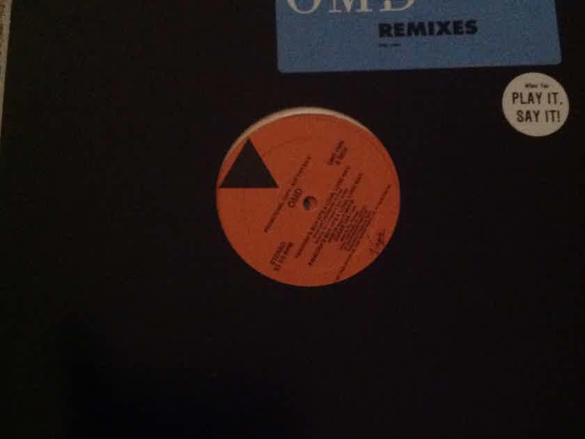 O.M.D. - Pandora's Box Virgin Records Double Vinyl 12 Inch  Remixes NM