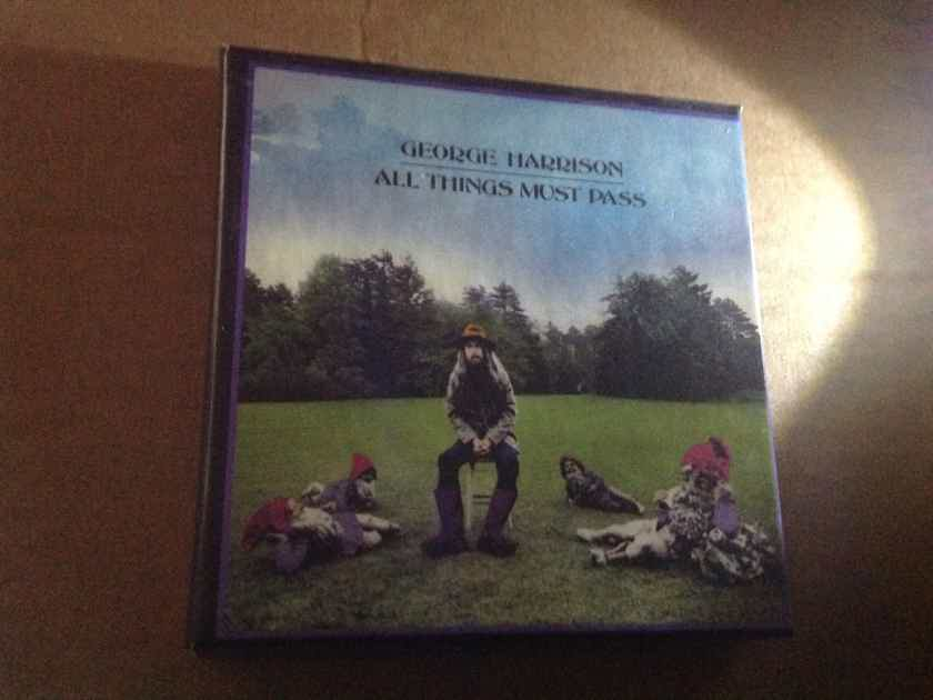 George Harrison - All Things Must Pass 2 CD Box Set Capitol Records