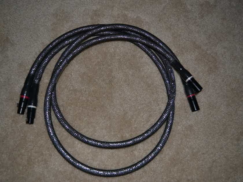Acoustic Zen Absolute Copper 1.5 meter length w/ XLR /Free shipping
