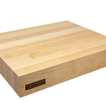 "Butcher Block Acoustics 18"" X 15"" X 3"" Maple Edge-Grain Audio Platform With ISO-FEET"