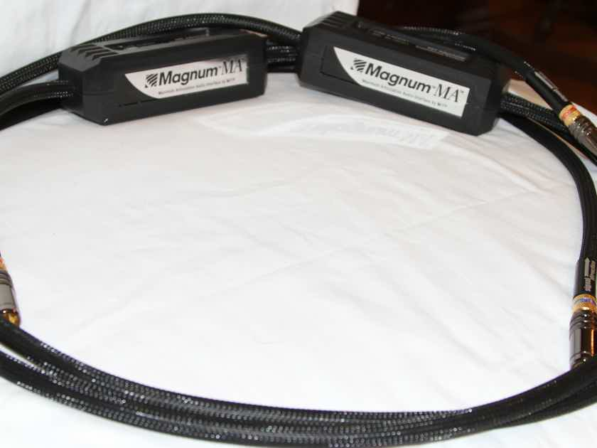 MIT MAGNUM MA RCA 2 meter pair , TRADE-IN,XLNT, WARRANTY