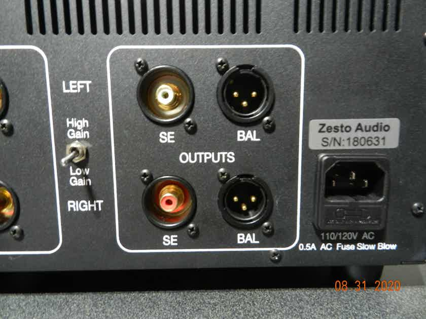 Zesto Audio Andros Deluxe phono stage - mint customer trade-in