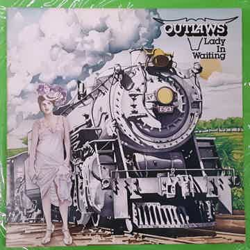 Outlaws - Lady In Waiting 1976 NM Vinyl LP Arista AB 4070