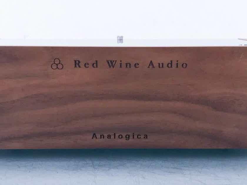 Red Wine Audio Analogica Renaissance Edition Phono Preamplifier MM / MC; Walnut (14100)