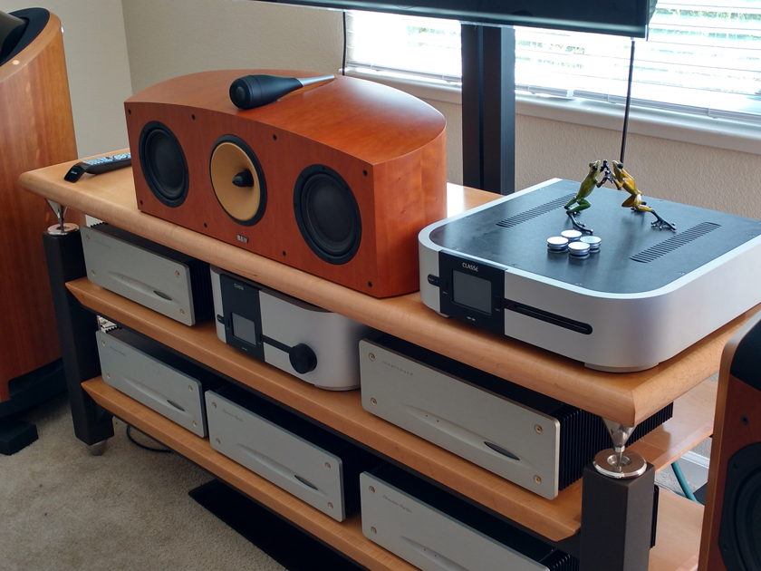 RixRax 9 Component Custom Steel and Maple Stand with Hoodoo Top