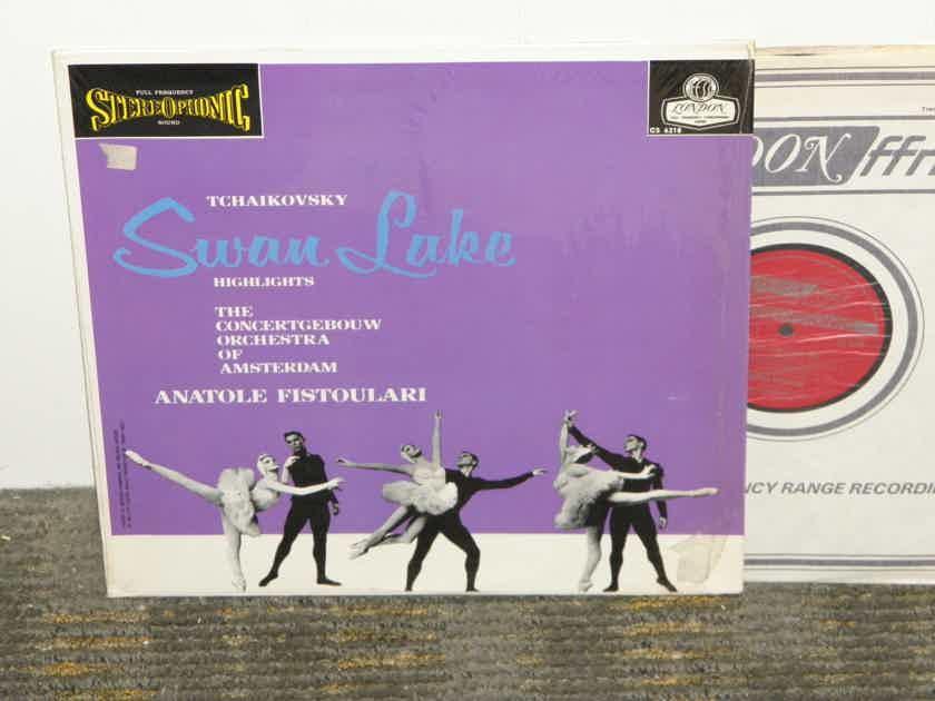 "Anatole Fistoulari/Concergebouw - Tchaikovsky ""Swan Lake"" London CS 6774 UK Decca pressing"