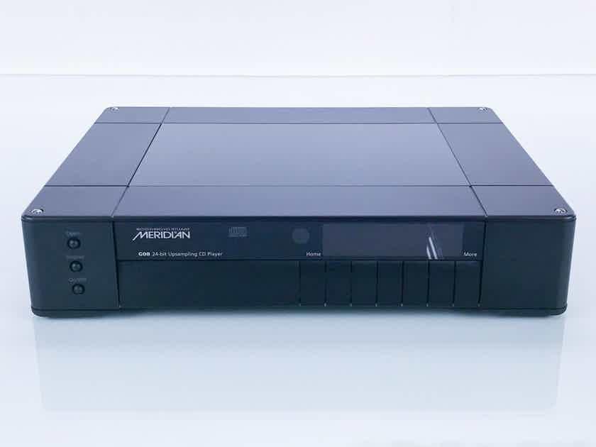 Meridian G08 24-Bit Upsampling CD Player; G-08; AS-IS (Read Error) (16844)