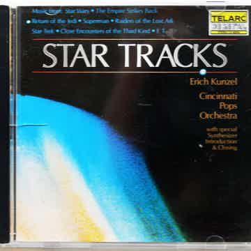TELARC CD   STAR TRACKS   ** ORIGINAL 1984 JAPAN PRESSING **