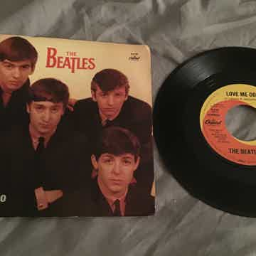 The Beatles  Love Me Do/P.S. I Love You 45 With Picture...