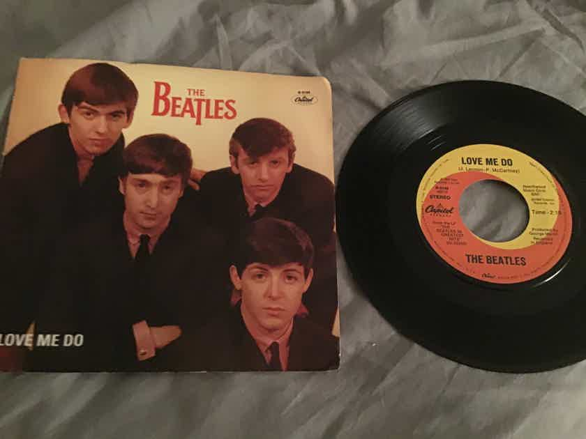 The Beatles  Love Me Do/P.S. I Love You 45 With Picture Sleeve