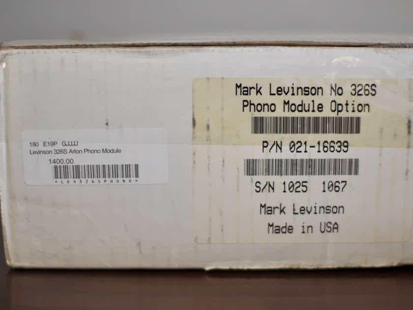 Mark Levinson No. 326S W/Phono