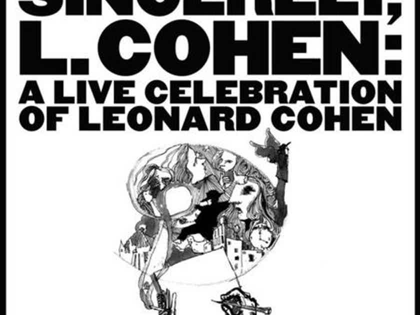 Varioujs Sincerely Cohen, a Live Celebration of Leonard Cohen- 2 LPs